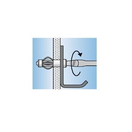 Метален дюбел за гипскартон KEW