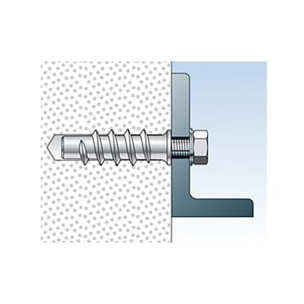 Метален анкер  FISCHER за газобетон FTP-M