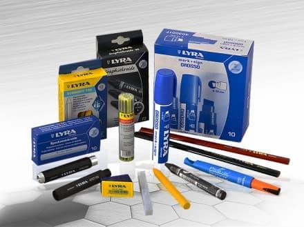 Моливи, маркери и спрейове LYRA