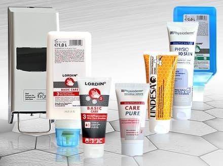 Защитни и почистващи препарати и кремове за ръце